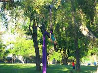 grupo de acrobacia en tela circo prado montevideo uruguay