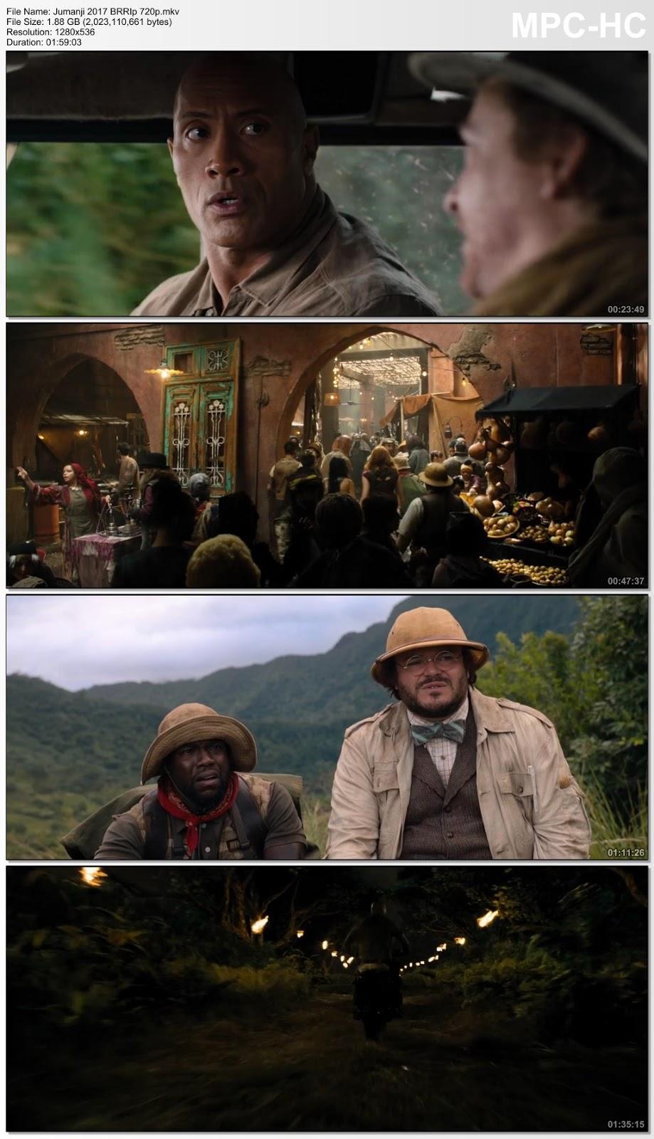 Jumanji: Bienvenidos a la jungla (2017) [BrRip720p-1080p][Latino][MG+]