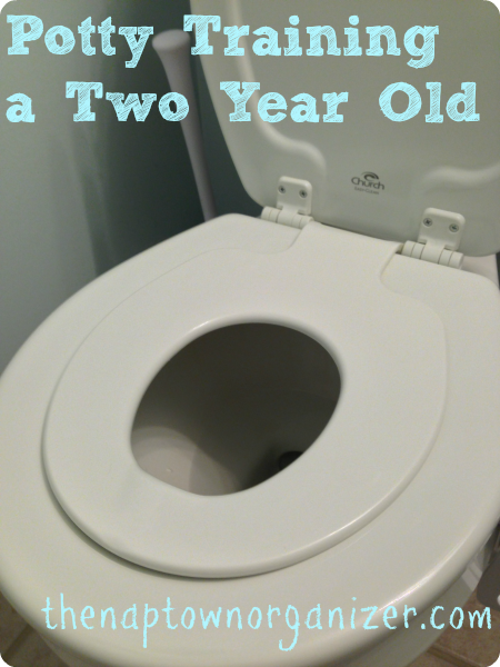 how to potty train a two year old boy