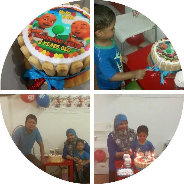 Aariz 2nd birthday