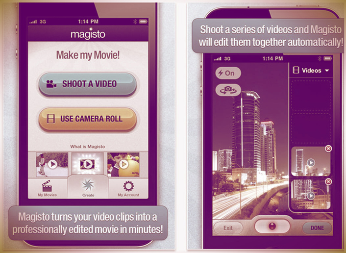 Great apps for iPhone: make and edit movies with your phone. Perfect for fashion blogs