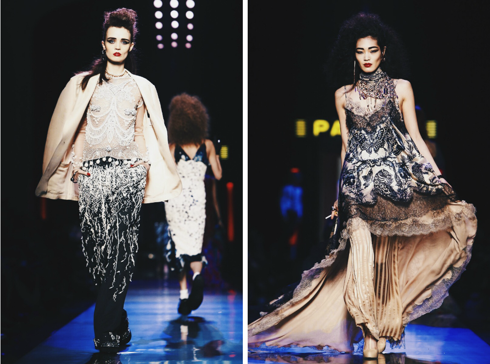 Ana Maddock- Jean Paul Gaultier Paris Haute Couture Fashion Week SS16