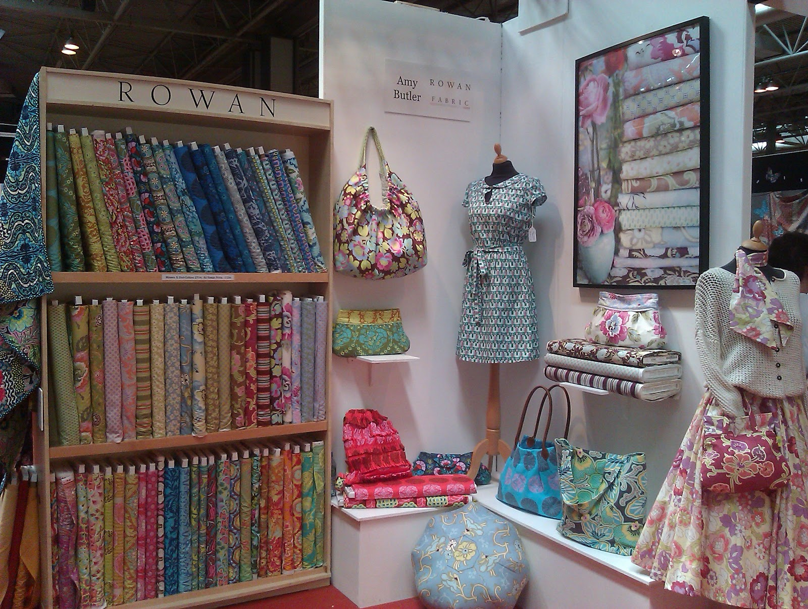 Rowantree: Festival of Quilts at the NEC