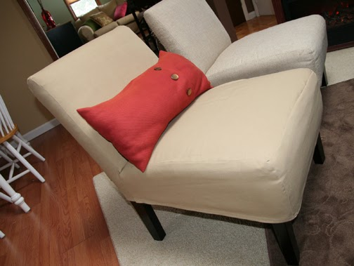Sohl Design Slipper Chair Slip Covers