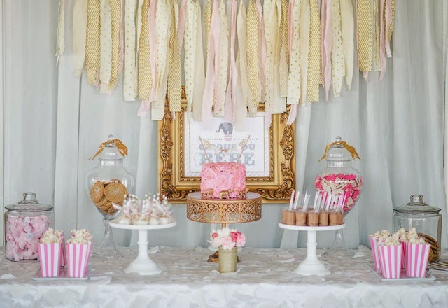 Fawn Over Baby Pink Gold Circus Themed Baby Shower By Sweet Events