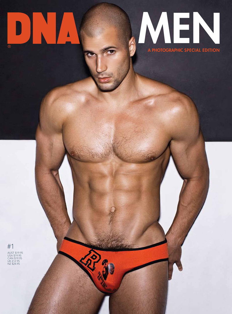 Model And Underwear Designer Todd Sanfield Photographed By Rick Day