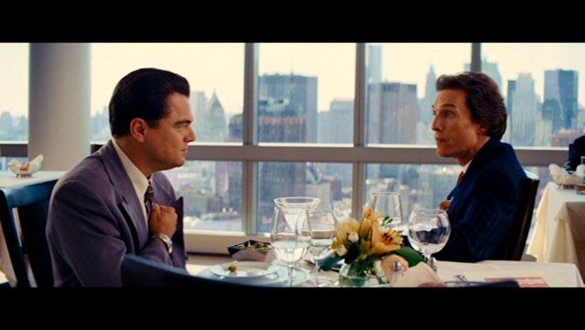 Leonardo DiCaprio and Matthew McConaghey