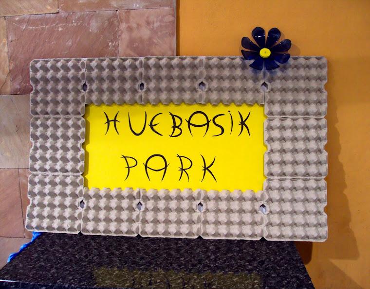 """Ahora os voy a contar una historia que se llama """"Huebasik Park"""""""