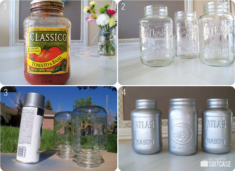 mason jars painted - photo #29