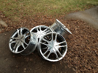 15 inch Chrome Rims for Trade!