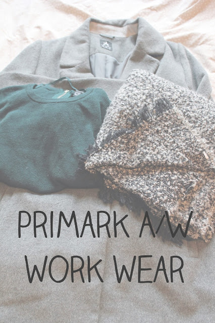 Blooms and Amber - Primark Work Wear Haul - Read my favourite purchases for work this autumn from the current Primark Collection - See my purchases and let me know what you've been buying on the blog.