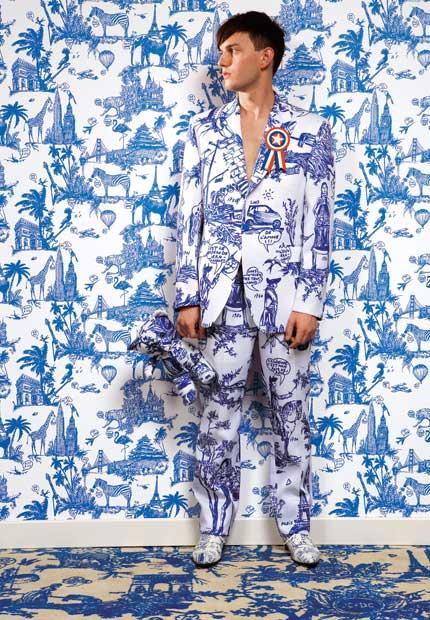 Papier Peint Toile De Jouy Moderne - Papier peint vintage à motifs floraux en 25 idées fantastiques