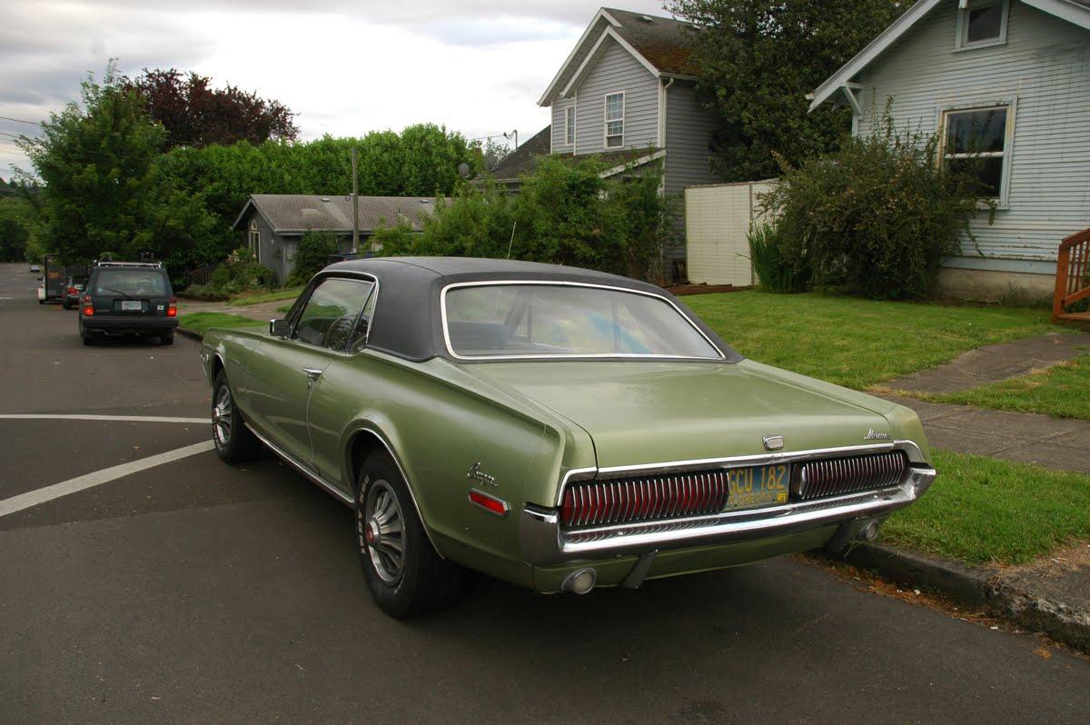 1968 Mercury Cougar.