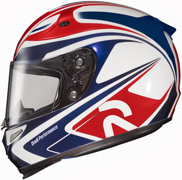 HJC Zappy Pegram MC-5 Full Face Motorcycle Helmet