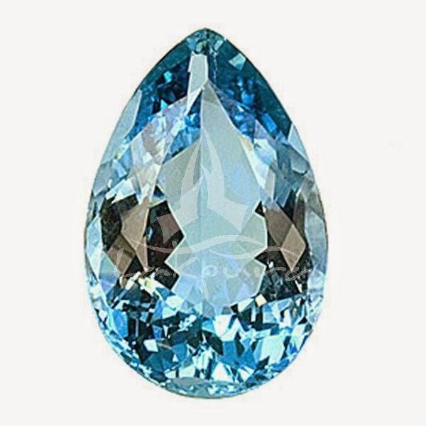 Jenis Batu Permata, Batu Aquamarine atau Batu Biru Laut