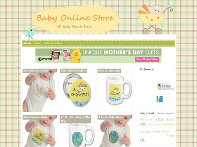 Baby Online Store Blog Theme