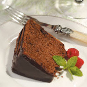 Just Desserts for Diabetics: Chocolate Angel Food Cake