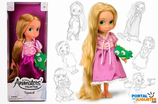 muñeca rapunzel coleccion animators
