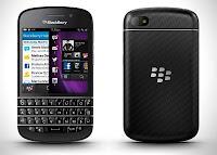 Blackberry Q10 Meluncur di Inggris Akhir April