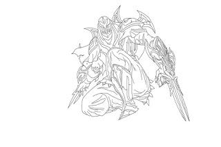 Dibujos de anime y varios para pintar: Dibujos de League ...