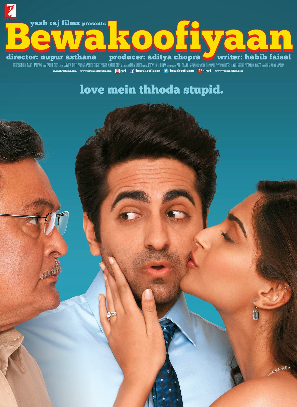 Watch Bewakoofiyaan (2014) DVDScr Hindi Full Movie Watch Online For Free Download