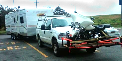 Motorcycle Carrier Truck Ladder Rack Wheelchair Carrier