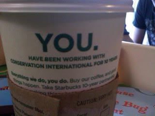 Starbucks Punctuation Fail - Rantomness