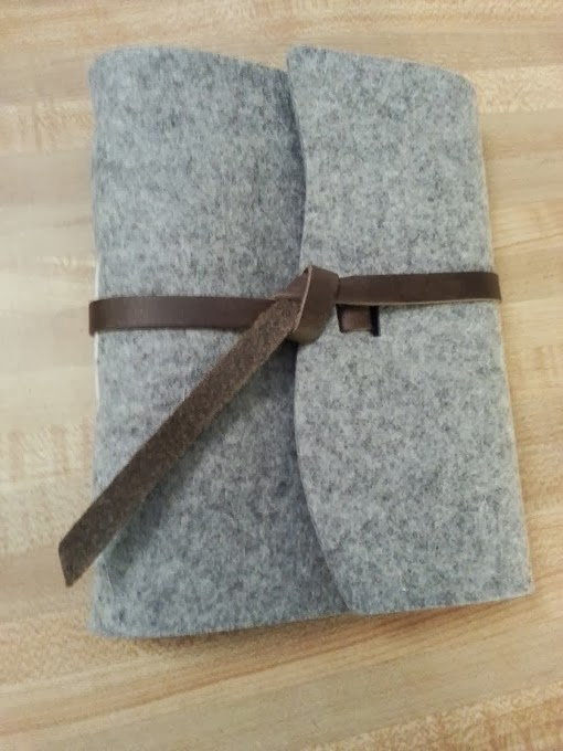 Rustico wool parley journal