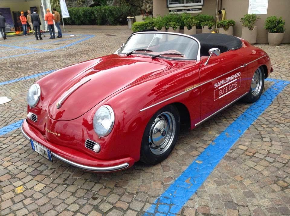 Tα αυτοκίνητα RCH 356 Speedster της Replicar Hellas στο Rapallo της Ιταλίας