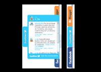 Membuat Widget Social Media 3 in 1 Melayang di Blog