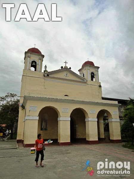 Churches in Batangas for Visita Iglesia Our Lady of Caysasay Taal