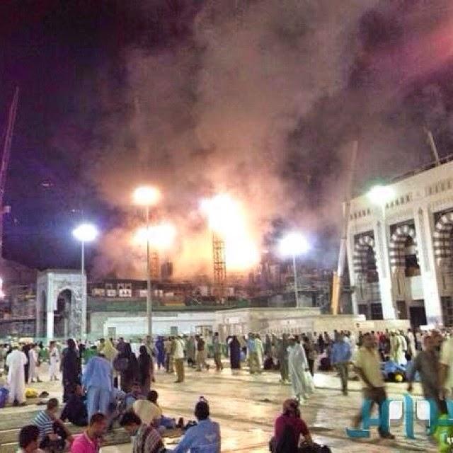 MAKKAH Kebakaran Berdekatan Masjidil Haram Korbankan Satu Nyawa