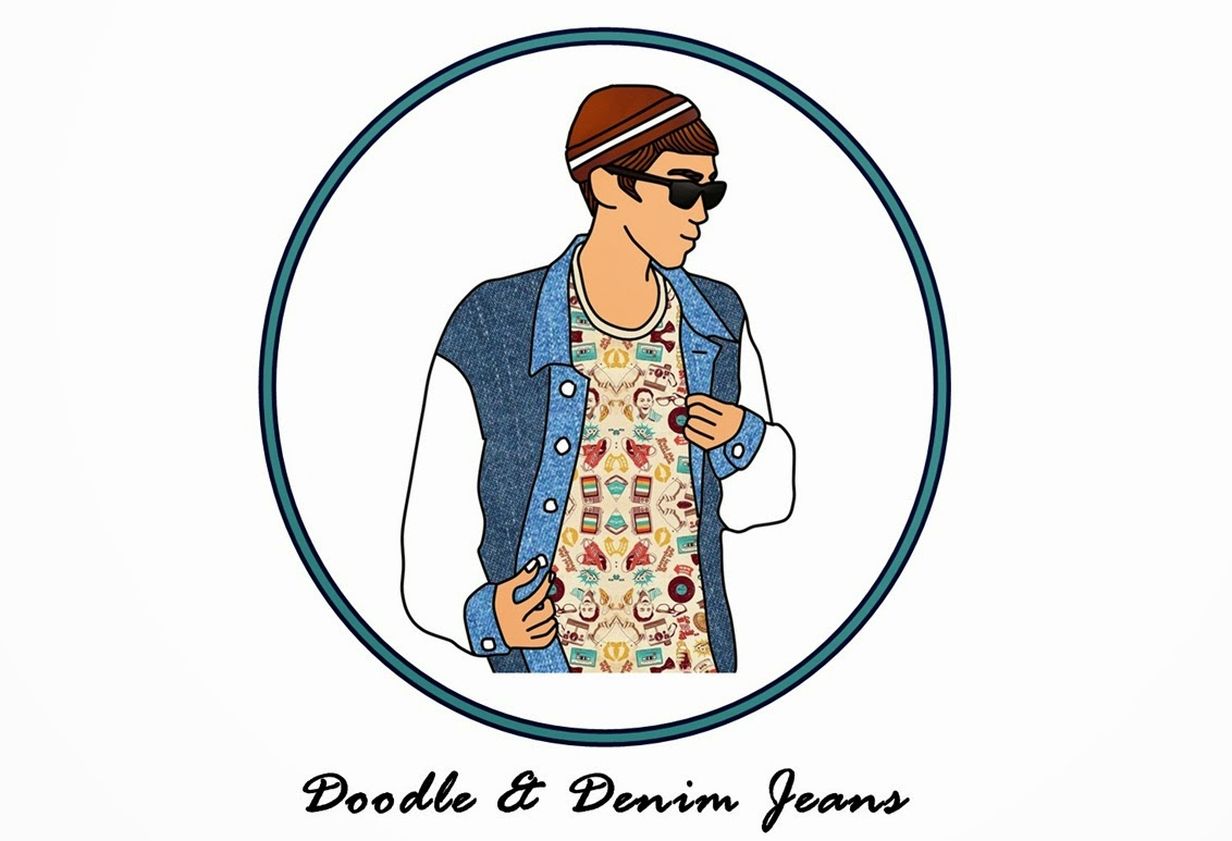 Doodle and Denim Jeans