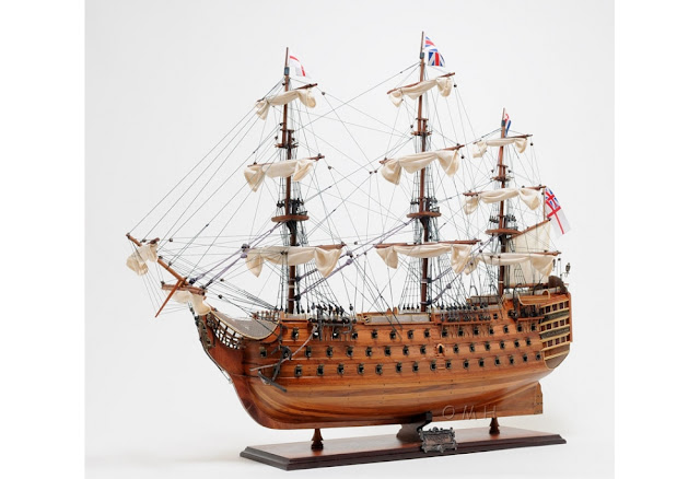 1805 HMS Victory Admiral Nelson's Flagship