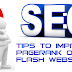 Tips to Improve Pagerank On Full Flash Website