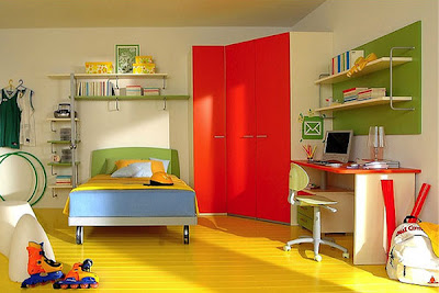 Full Colour Decorating Ideas for Girl Kids Room