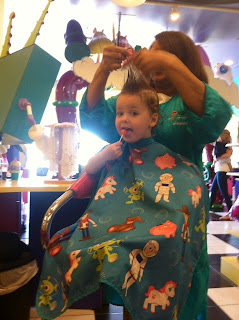 Kids Haircuts and Lollipops ~ TheQuirkyConfessions.com