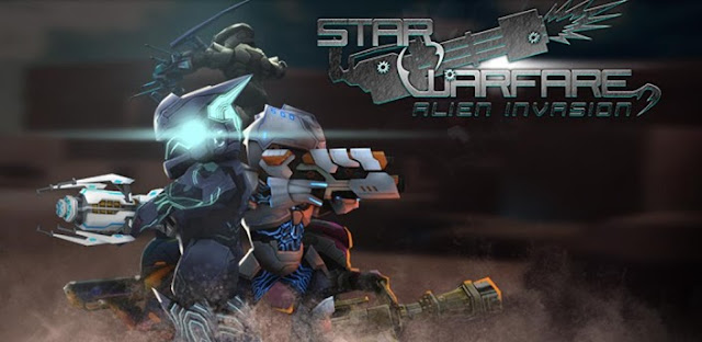 Star Warfare:Alien Invasion HD v2.70 Apk + Data Mod [Money e Mithrils Gratuitos]