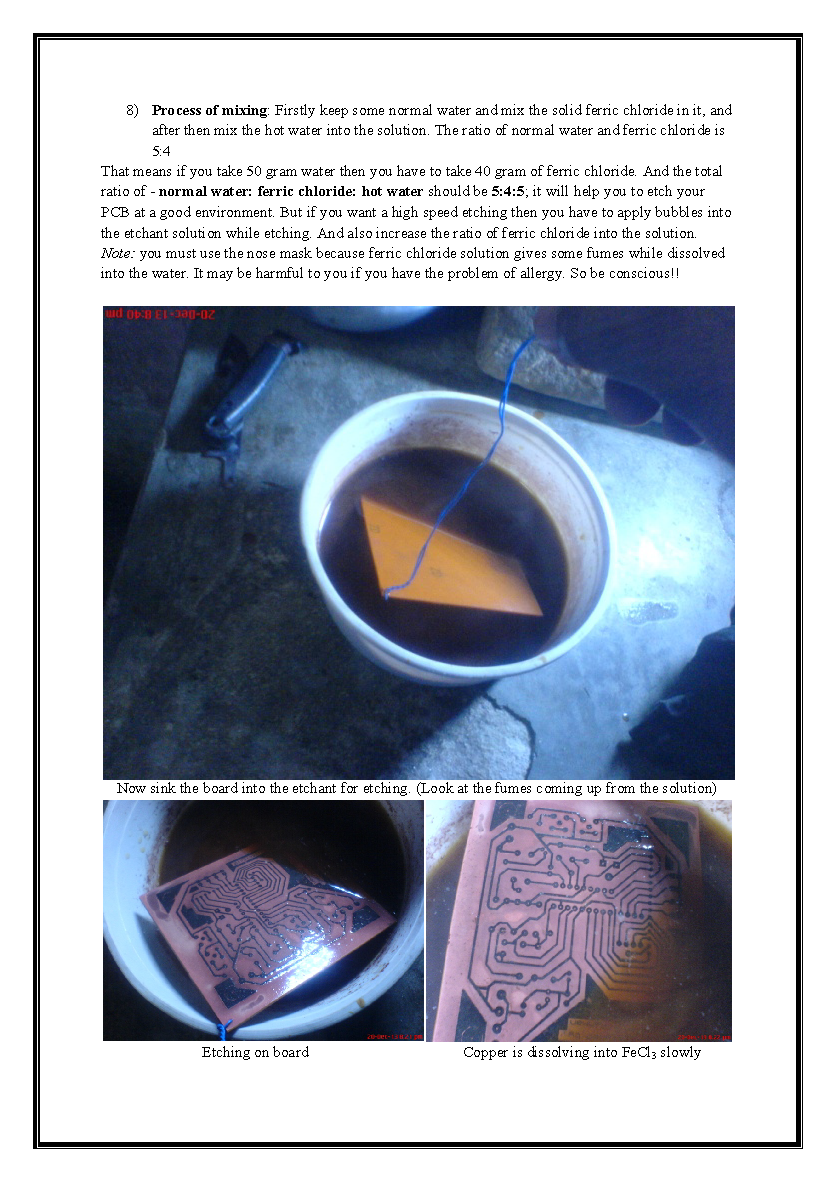 Making Pcb At Home Printed Circuit Board Print Your Etching Boards If You Are Planning To Layout On A Copper And Want Make Custom Then My This Attached Hand Note Will Help