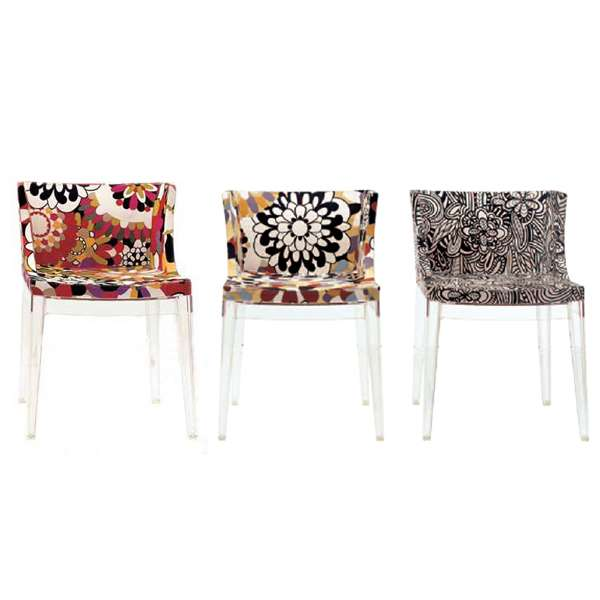 Mademoiselle Chair With Missoni Fabric By Kartell $950 Allmodern.com