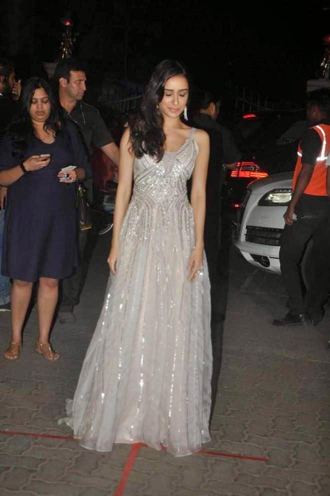 shraddha kapoor latest white gown stills