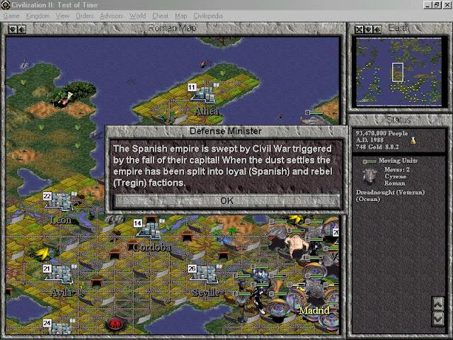 Civilization 2: Test of Time - Sci-Fi Game Description