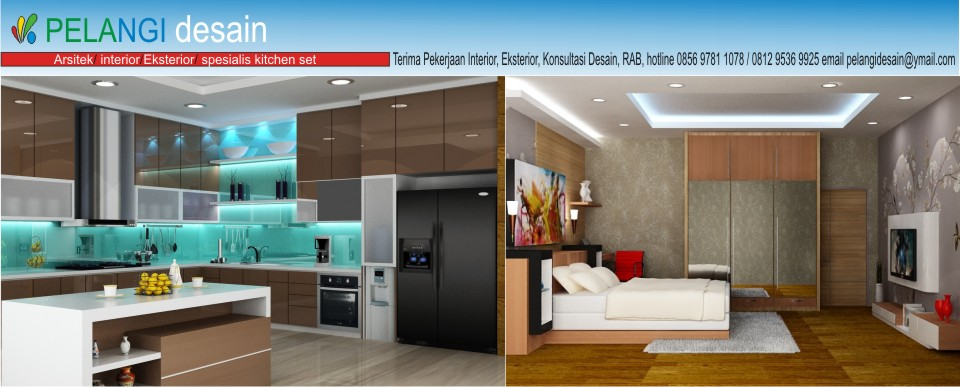 Kitchenset Pelangi Desain Interior