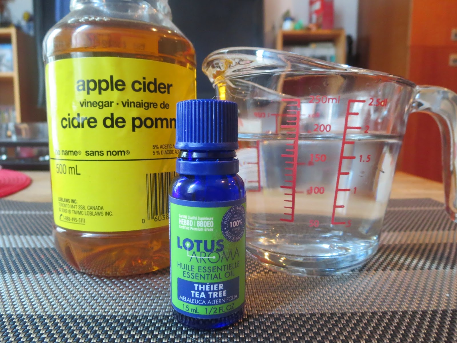 a picture of DIY apple cider vinegar toner