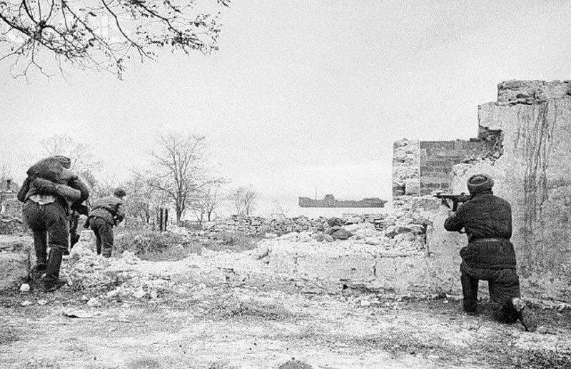Керчь во время Второй мировой войны