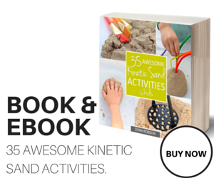 35 Awesome Kinetic Sand Activities for Kids (coming soon!) from And Next Comes L