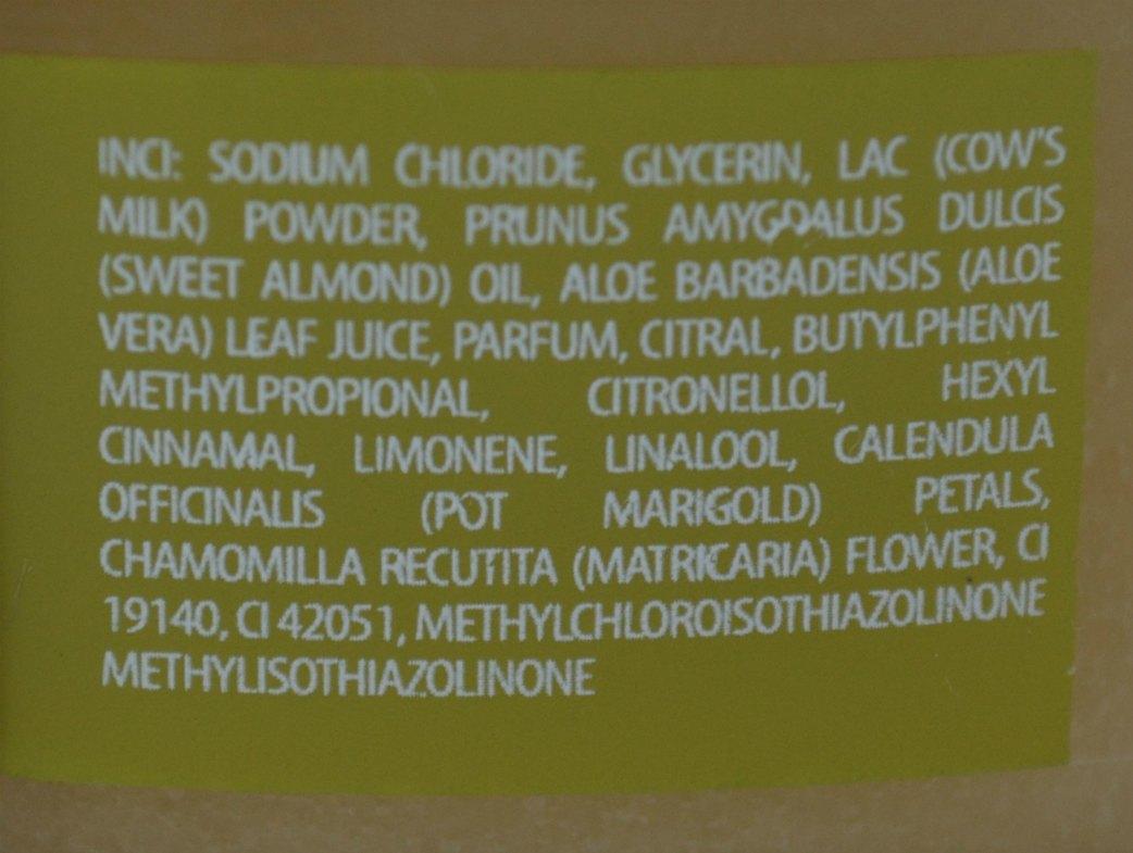 Bio2you SPA Body Salt Scrub with Chamomile & Calendula koostis