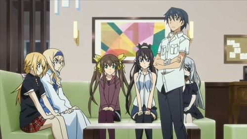 Infinite Stratos BD Episode 1 - 12 [END] Subtitle Indonesia