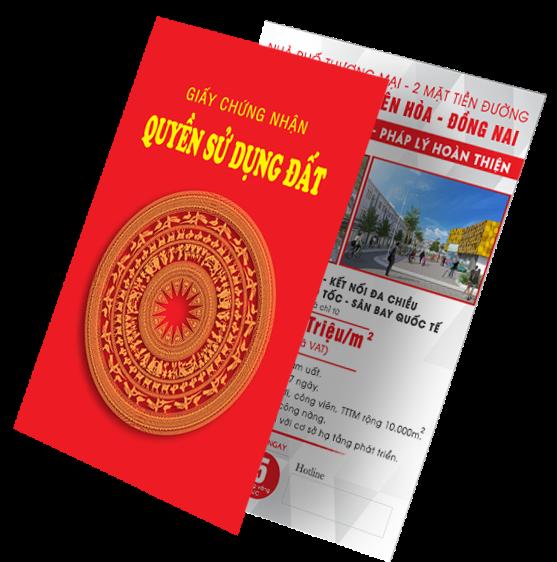 Sổ đỏ trao ngay, dự án KDC Phước Thái