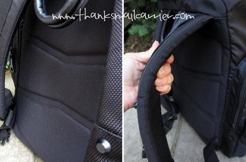 Targus Demolition Backpack padding